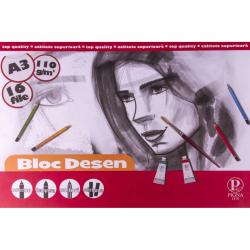BLOC DESEN A3 PP 110G