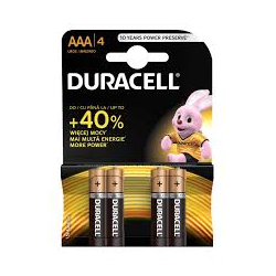 BATERIE  DURACELL AAA
